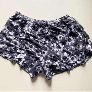 Abercrombie kids girls floral shorts
